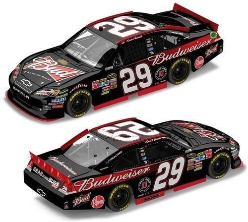 kevin harvick budweiser car