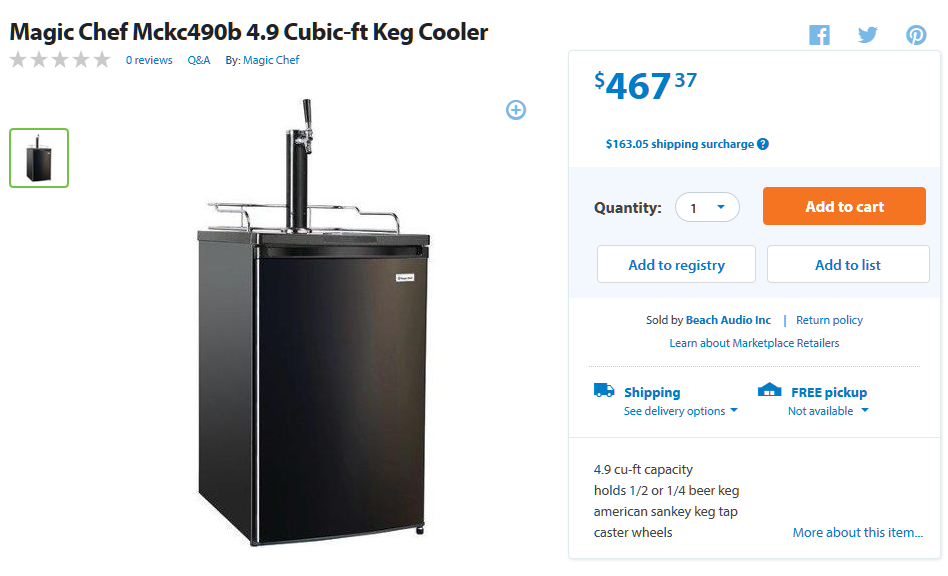 Walmart Kegerator Reviews Read Before You Buy